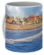 Santa Monica Beach View  Coffee Mug