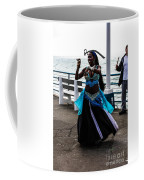 Santa Monica Belly Dancer Coffee Mug