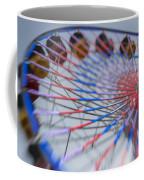 Santa Monica Pier Ferris Wheel At Dusk Coffee Mug