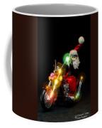 Santa Motoring Coffee Mug