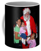 Santa Poses With Fans At Annual Christmas Parade Eloy Arizona 2004 Coffee Mug