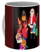Santa Trick Or Treaters Halloween Party Casa Grande Arizona 2005 Coffee Mug