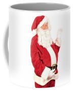 Santa Waving Coffee Mug