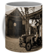 Santa Ynes Gas Station    Sepia Coffee Mug