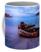 Sant'andrea At Night - Elba Island. Coffee Mug