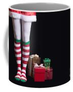 Santas Little Helper Coffee Mug by Edward Fielding