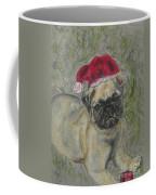 Santa's Little Pugster Coffee Mug