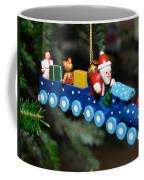 Santa's Train Delivery Coffee Mug