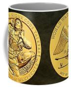Santee Sioux Tribe Code Talkers Bronze Medal Art Coffee Mug