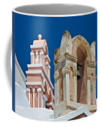 Santorini Bell Towers Coffee Mug