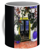 Santorini Doorway 2 Coffee Mug