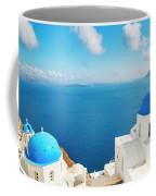 Santorini Island, Greece, Beautiful Coffee Mug