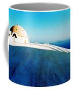 Santorini Island Greece Coffee Mug