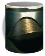Santorini Lines By Night  Coffee Mug