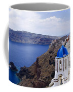Santorini Panorama 2 Coffee Mug