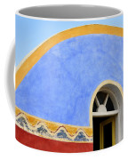 Santorini Window Coffee Mug