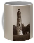 Sapelo Island Lighthouse Coffee Mug by Skip Willits