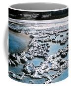 Sapphire Pool Yellowstone National Park Coffee Mug