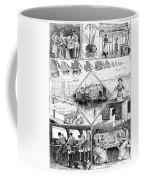 Sardine Fishery, 1880 Coffee Mug