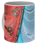 Saree In The Market Coffee Mug
