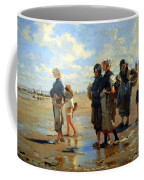 Sargent's En Route La Peche -- Setting Out To Fish Coffee Mug