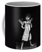 Sassy Cupid Bw Coffee Mug