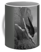 Satan Plunges Into The River Styx Coffee Mug