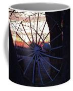 Satellite Sunset Coffee Mug