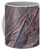 Satellite View Of Big Horn, Wyoming, Usa Coffee Mug