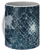 Satellite View Of Fields In Sonora Coffee Mug