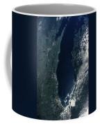 Satellite View Of Lake Michigan Coffee Mug