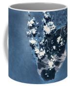 Satellite View Of Montserrat Island Coffee Mug