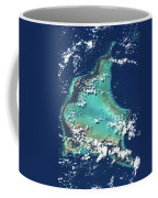 Satellite View Of Turks And Caicos Coffee Mug