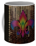 Satin Lily Symbol Digital Painting Coffee Mug