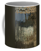Satin Silk And Moire Abstract - Vertical Coffee Mug