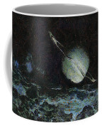 Saturn-y Coffee Mug by Ayse Deniz