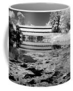 Saucks Bridge - Pond - Bw Coffee Mug