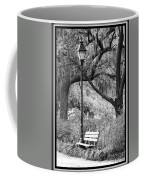 Savannah Afternoon - Black And White Coffee Mug