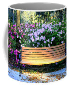 Savannah Bench Coffee Mug by Carol Groenen