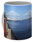Savannah River Bridge Ga Coffee Mug