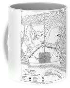 Savannah Siege Map, 1779 Coffee Mug