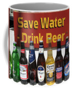 Save Water Drink Beer Coffee Mug