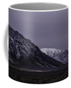 Sawtooth Mountain At Night Coffee Mug