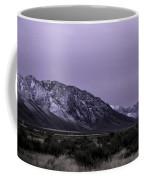Sawtooth Mountain In December Coffee Mug