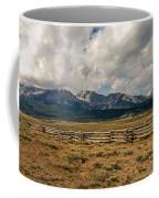 Sawtooth Range Coffee Mug by Robert Bales