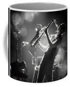 Sax In Black Coffee Mug