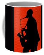Sax On The Bricks Coffee Mug