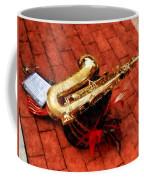 Saxophone Before The Parade Coffee Mug