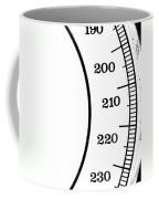 Scale Numbers Coffee Mug