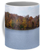 Scales Lake In Autumn Coffee Mug by Sandy Keeton